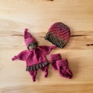 Cranberry Red Infant Doll