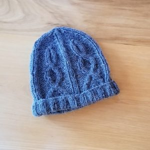 Dusky Blue Infant Hat