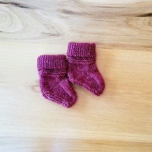 Cranberry Red Booties