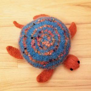 Felted Sea Turtle