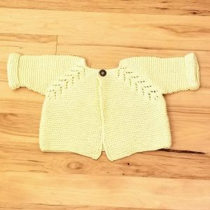 Yellow Infant Cardigan