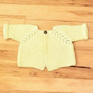 Yellow Infant Cardigan