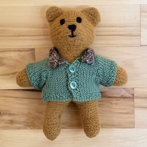 Baby Brown Bear with Cardigan
